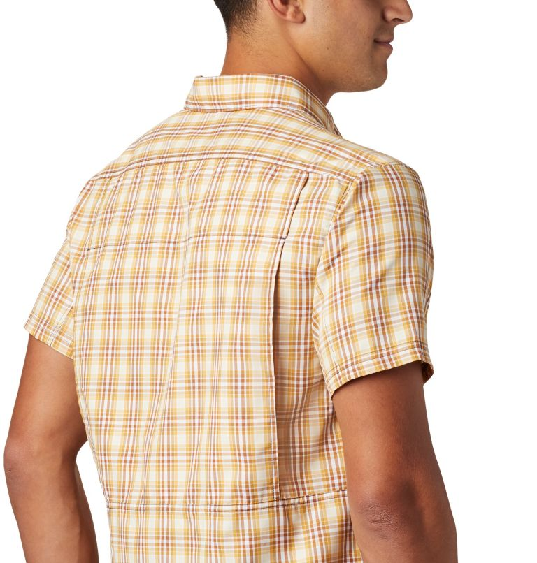 Silver Ridge™ 2.0 Multi Plaid S/S Shirt | 734 | M Men's Silver Ridge™ 2.0 Multi Plaid Short Sleeve Shirt, Dark Banana Gingham, a3