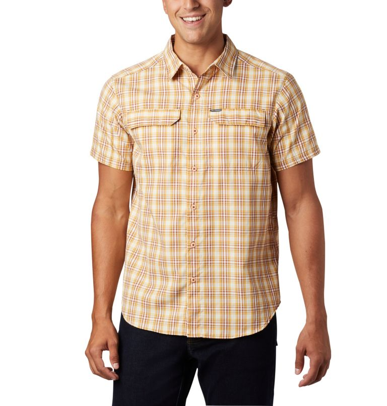 Men's Silver Ridge™ 2.0 Multi Plaid Short Sleeve Shirt Men's Silver Ridge™ 2.0 Multi Plaid Short Sleeve Shirt, front
