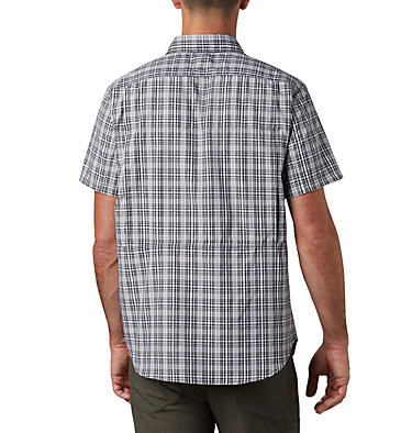 Men's Silver Ridge™ 2.0 Multi Plaid Short Sleeve Shirt , back