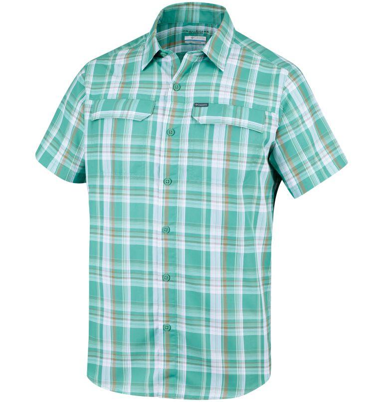 Silver Ridge™ 2.0 Multi Plaid  | 344 | S Camicia a maniche corte con motivo scozzese Silver Ridge™ 2.0 da uomo, Copper Ore Plaid, front