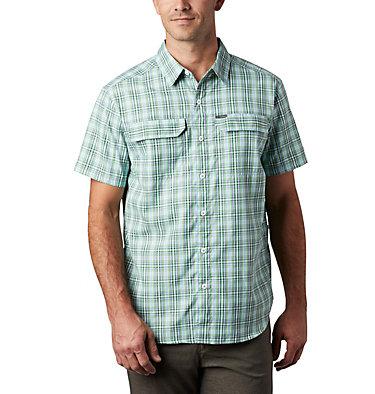 Silver Ridge™ 2.0 Kurzarmhemd mit Karomuster für Herren Silver Ridge™ 2.0 Multi Plaid  | 615 | M, Green Boa Gingham, front