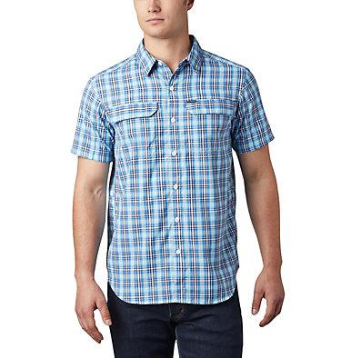 Silver Ridge™ 2.0 Kurzarmhemd mit Karomuster für Herren Silver Ridge™ 2.0 Multi Plaid  | 615 | M, Azul Gingham, front