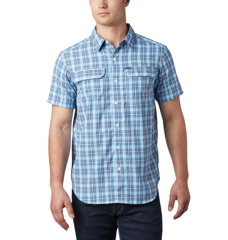 Camicia a maniche corte con motivo scozzese Silver Ridge™ 2.0 da uomo Camicia a maniche corte con motivo scozzese Silver Ridge™ 2.0 da uomo, front