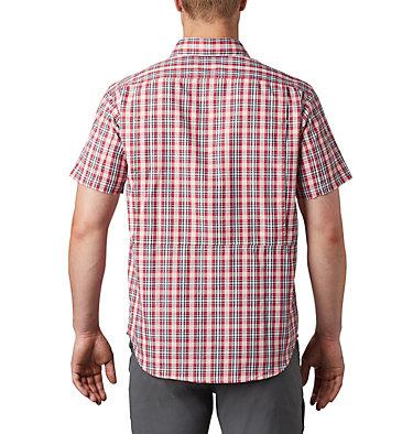 Silver Ridge™ 2.0 Kurzarmhemd mit Karomuster für Herren Silver Ridge™ 2.0 Multi Plaid  | 615 | M, Dark Coral Gingham, back