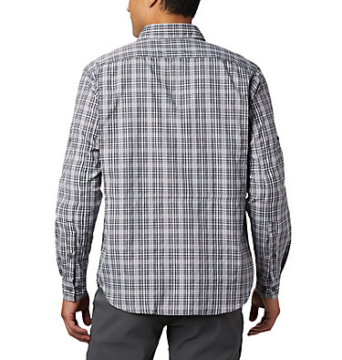 Men's Silver Ridge™ 2.0 Plaid Long Sleeve Shirt Silver Ridge™ 2.0 Plaid L/S Shirt | 257 | XXL, Black Gingham, back