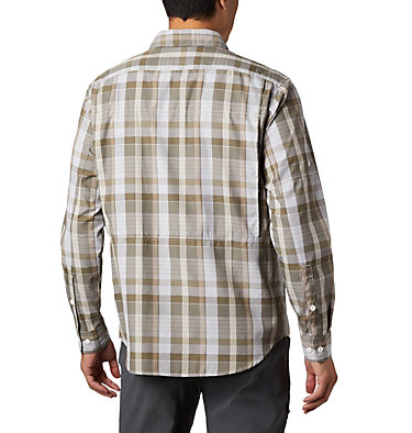 Men's Silver Ridge™ 2.0 Plaid Long Sleeve Shirt Silver Ridge™ 2.0 Plaid L/S Shirt | 257 | XXL, Tusk Multi Plaid, back