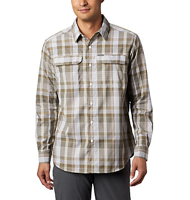 Men's Silver Ridge™ 2.0 Plaid Long Sleeve Shirt Silver Ridge™ 2.0 Plaid L/S Shirt | 257 | XXL, Tusk Multi Plaid, front