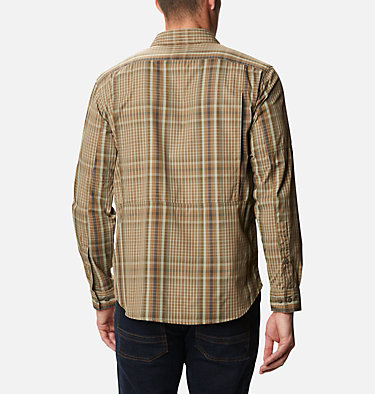 Men's Silver Ridge™ 2.0 Plaid Long Sleeve Shirt Silver Ridge™ 2.0 Plaid L/S Shirt | 257 | XXL, Delta Multi Plaid, back