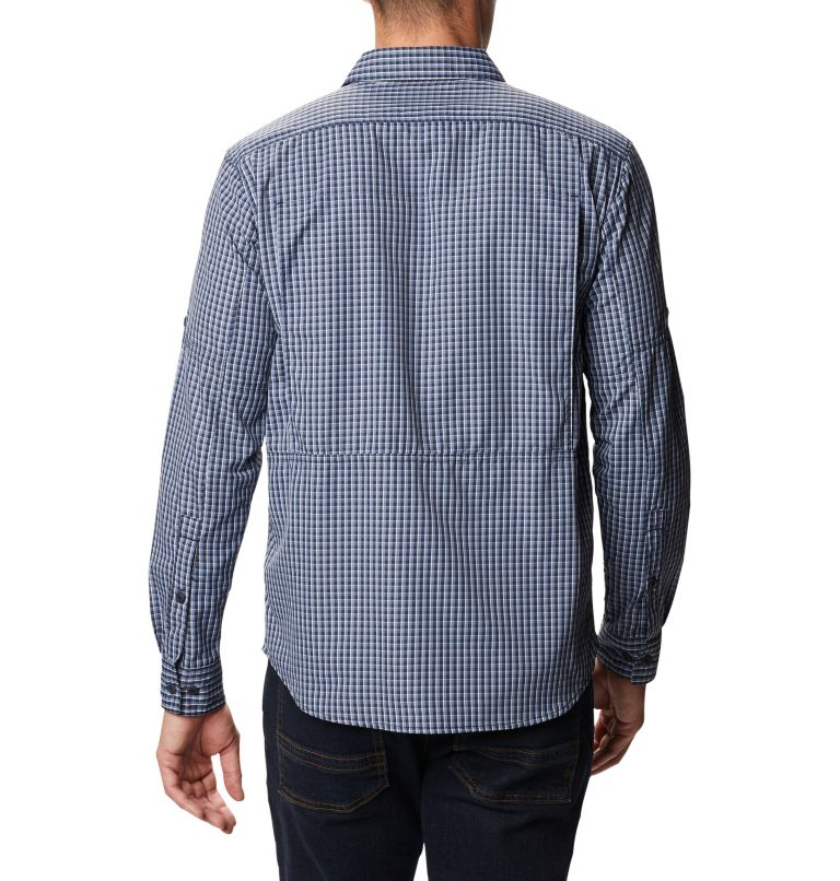 Men's Silver Ridge™ 2.0 Plaid Long Sleeve Shirt Men's Silver Ridge™ 2.0 Plaid Long Sleeve Shirt, back