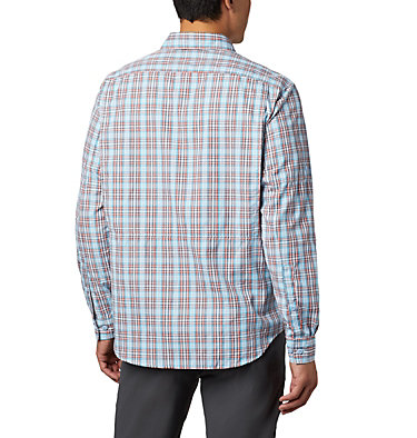 Men's Silver Ridge™ 2.0 Plaid Long Sleeve Shirt Silver Ridge™ 2.0 Plaid L/S Shirt | 257 | XXL, Clear Water Gingham, back
