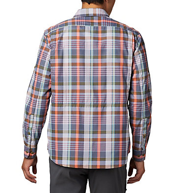 Men's Silver Ridge™ 2.0 Plaid Long Sleeve Shirt Silver Ridge™ 2.0 Plaid L/S Shirt | 012 | L, Collegiate Navy Multi Plaid, back