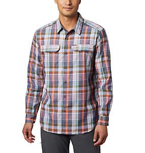 Chemise à manches longues à carreaux Silver Ridge ™ 2.0 pour homme