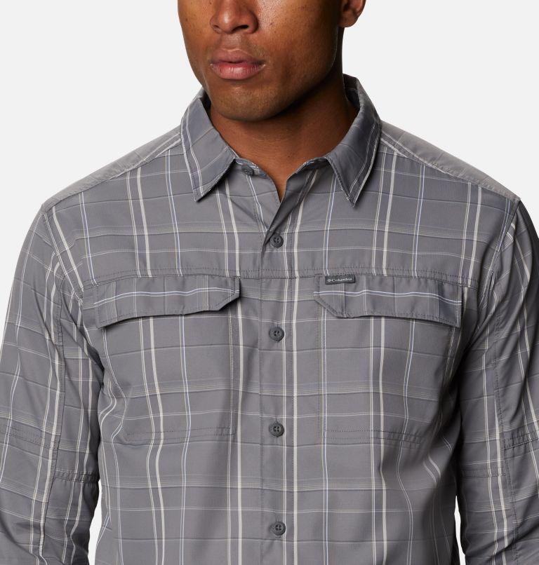 Men's Silver Ridge™ 2.0 Plaid Long Sleeve Shirt - Big Men's Silver Ridge™ 2.0 Plaid Long Sleeve Shirt - Big, a2