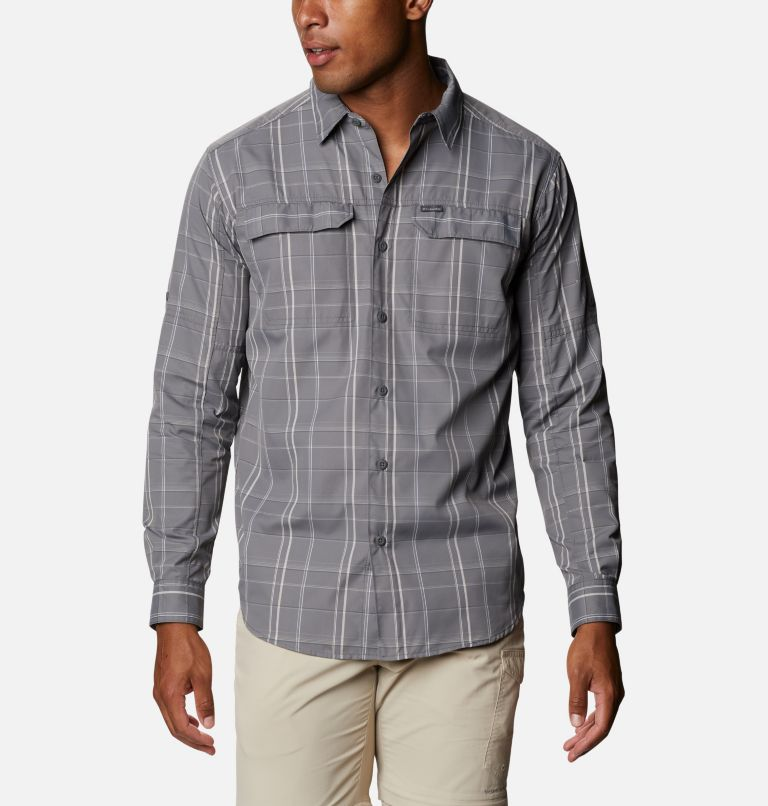 Men's Silver Ridge™ 2.0 Plaid Long Sleeve Shirt - Big Men's Silver Ridge™ 2.0 Plaid Long Sleeve Shirt - Big, front