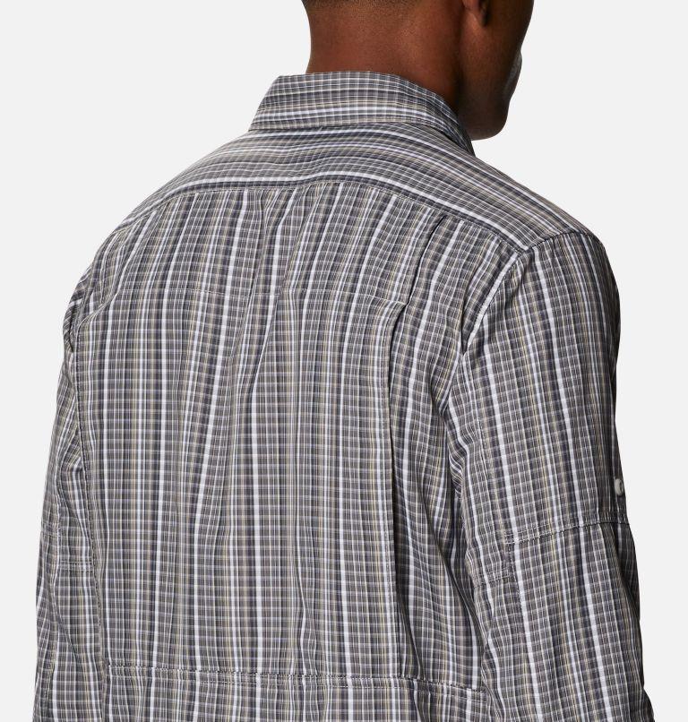 Silver Ridge™ 2.0 Plaid L/S Shirt | 043 | 4X Men's Silver Ridge™ 2.0 Plaid Long Sleeve Shirt - Big, Nimbus Grey Multi Grid, a3