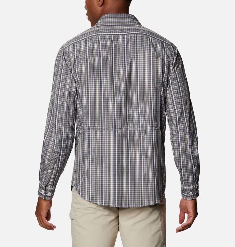 Silver Ridge™ 2.0 Plaid L/S Shirt | 043 | 4X Men's Silver Ridge™ 2.0 Plaid Long Sleeve Shirt - Big, Nimbus Grey Multi Grid, back