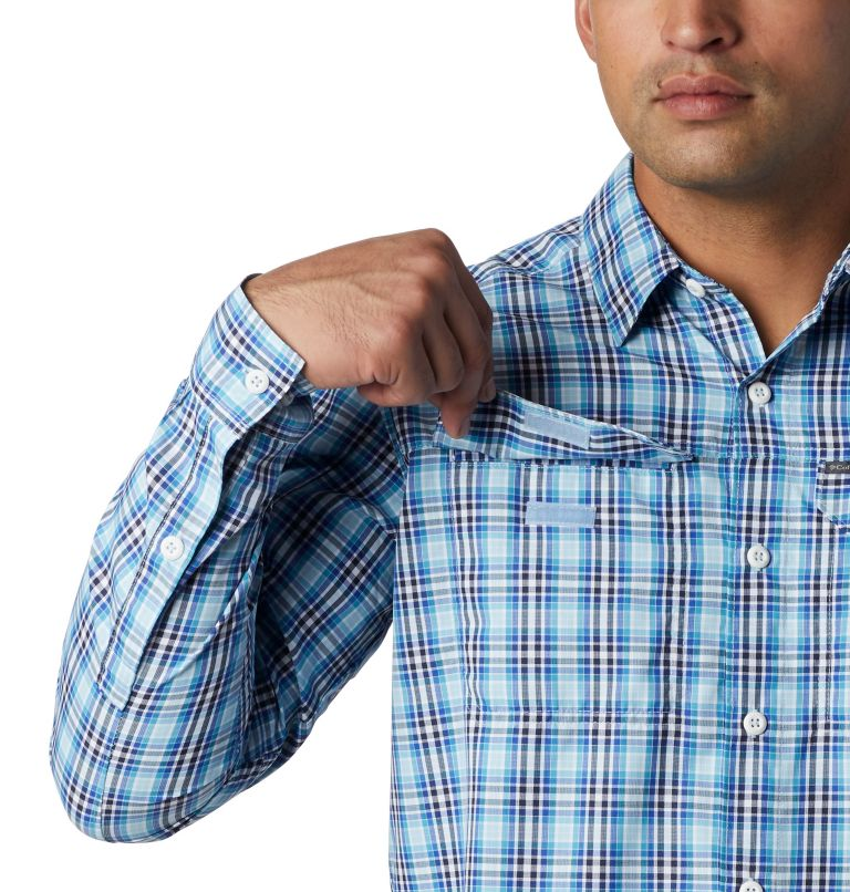 Men's Silver Ridge™ 2.0 Plaid Long Sleeve Shirt—Big Men's Silver Ridge™ 2.0 Plaid Long Sleeve Shirt—Big, a2