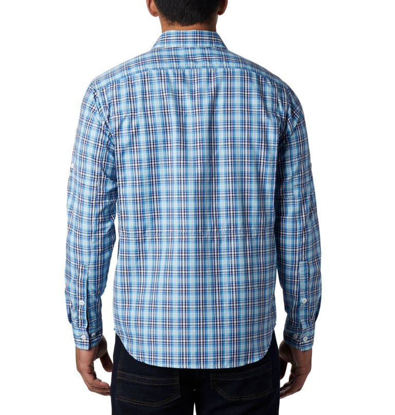 Men's Silver Ridge™ 2.0 Plaid Long Sleeve Shirt—Big Men's Silver Ridge™ 2.0 Plaid Long Sleeve Shirt—Big, back
