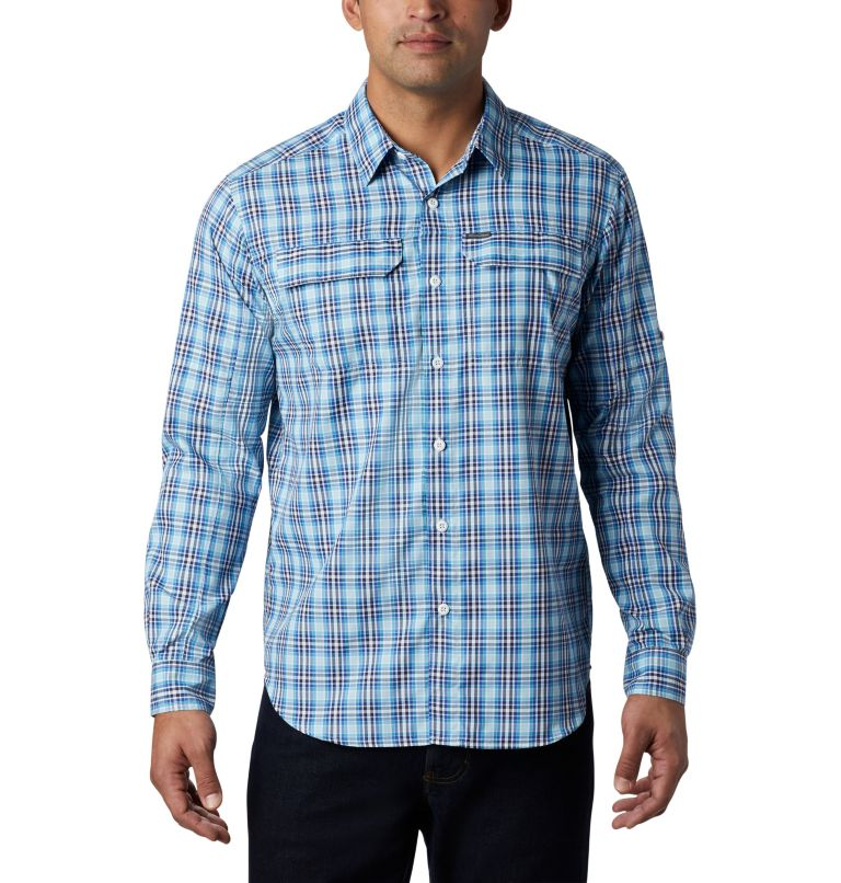 Men's Silver Ridge™ 2.0 Plaid Long Sleeve Shirt—Big Men's Silver Ridge™ 2.0 Plaid Long Sleeve Shirt—Big, front