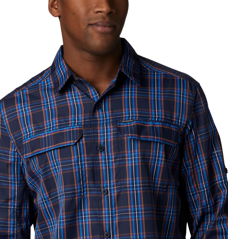Men's Silver Ridge™ 2.0 Plaid Long Sleeve Shirt—Big Men's Silver Ridge™ 2.0 Plaid Long Sleeve Shirt—Big, a1