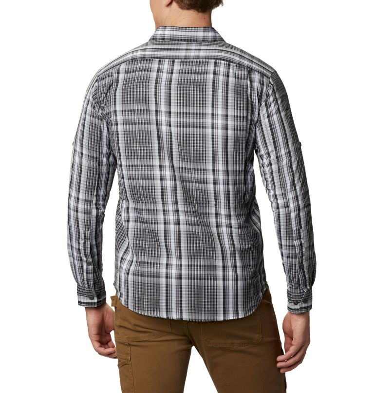 Men's Silver Ridge™ 2.0 Plaid Long Sleeve Shirt—Tall Men's Silver Ridge™ 2.0 Plaid Long Sleeve Shirt—Tall, back