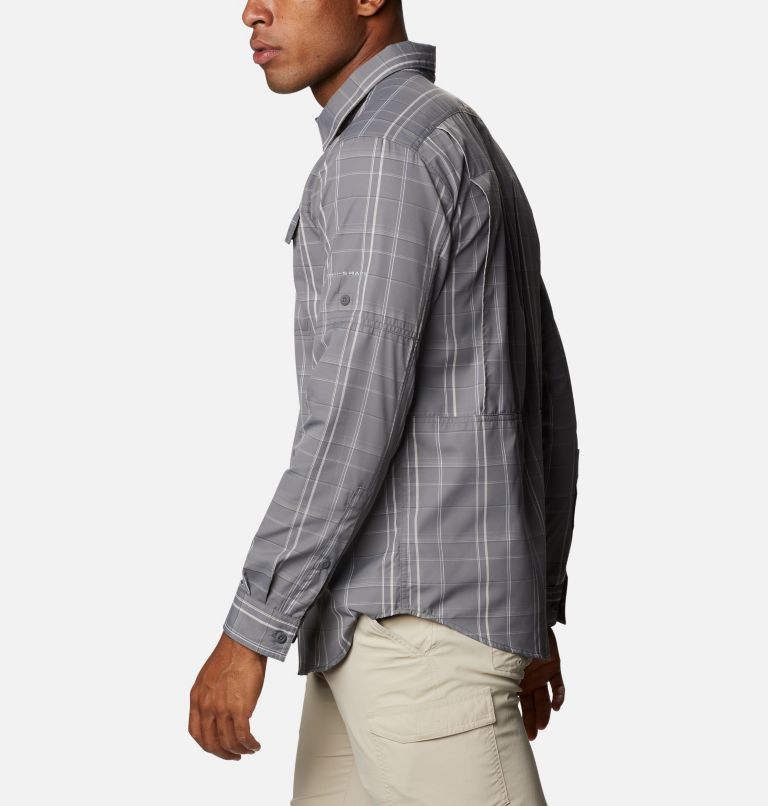 Men's Silver Ridge™ 2.0 Plaid Long Sleeve Shirt - Tall Men's Silver Ridge™ 2.0 Plaid Long Sleeve Shirt - Tall, a1