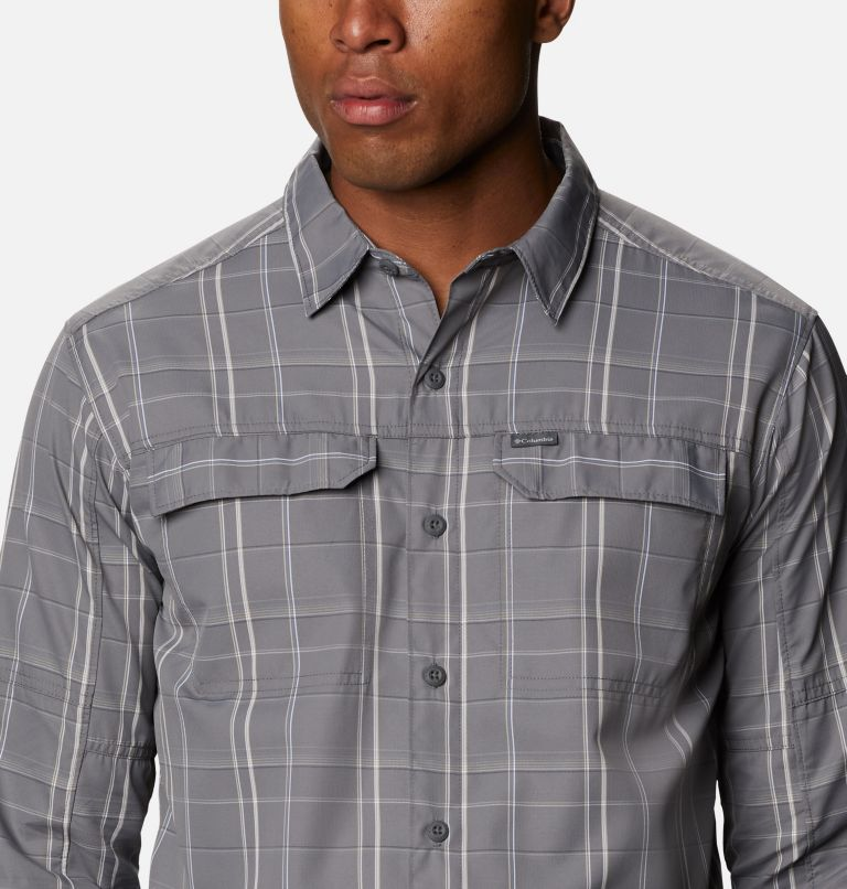 Men's Silver Ridge™ 2.0 Plaid Long Sleeve Shirt - Tall Men's Silver Ridge™ 2.0 Plaid Long Sleeve Shirt - Tall, a2