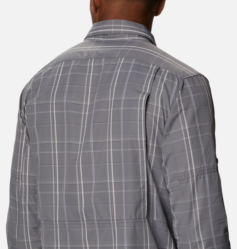 Men's Silver Ridge™ 2.0 Plaid Long Sleeve Shirt - Tall Men's Silver Ridge™ 2.0 Plaid Long Sleeve Shirt - Tall, a3