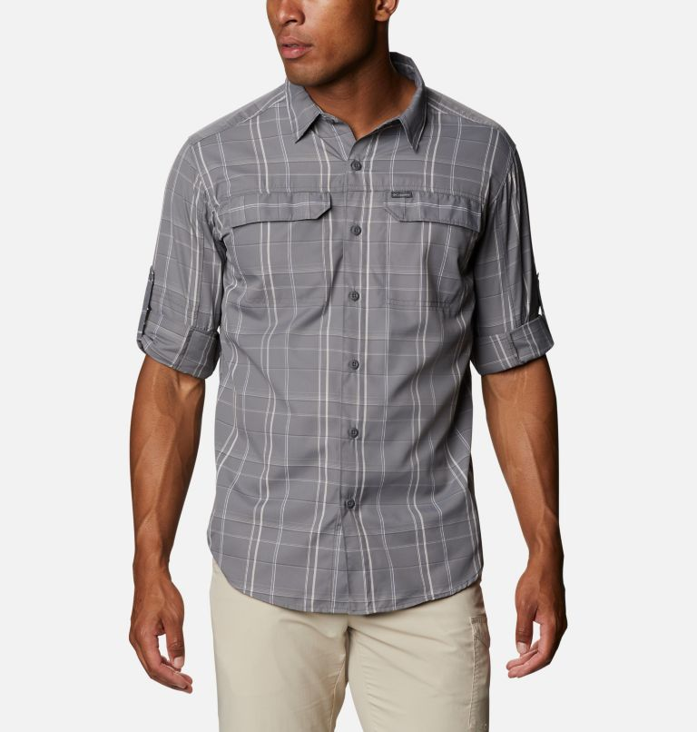 Men's Silver Ridge™ 2.0 Plaid Long Sleeve Shirt - Tall Men's Silver Ridge™ 2.0 Plaid Long Sleeve Shirt - Tall, a4