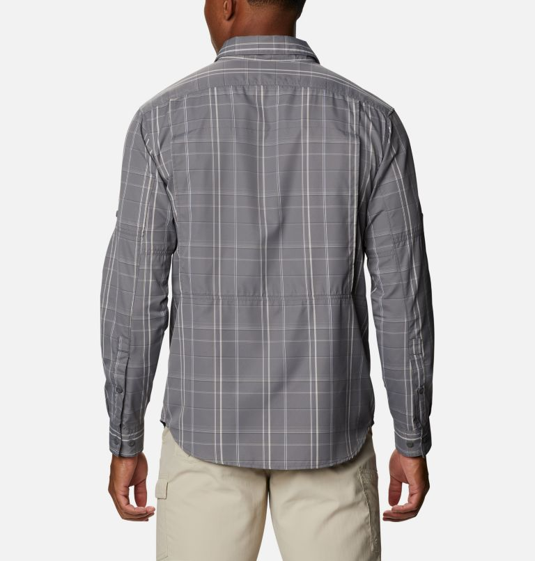 Men's Silver Ridge™ 2.0 Plaid Long Sleeve Shirt - Tall Men's Silver Ridge™ 2.0 Plaid Long Sleeve Shirt - Tall, back