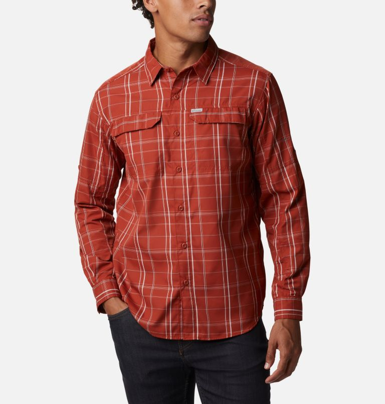 Men's Silver Ridge™ 2.0 Plaid Long Sleeve Shirt - Tall Men's Silver Ridge™ 2.0 Plaid Long Sleeve Shirt - Tall, front