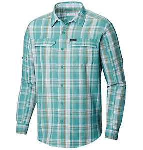 Men's Silver Ridge™ 2.0 Plaid Long Sleeve Shirt—Tall