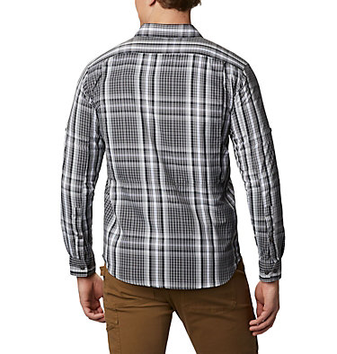 Men's Silver Ridge™ 2.0 Plaid Long Sleeve Shirt Silver Ridge™ 2.0 Plaid L/S Shirt | 024 | XS, City Grey Multi Plaid, back
