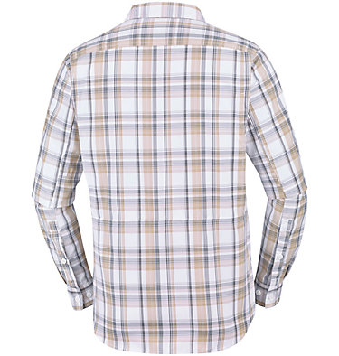 Men's Silver Ridge™ 2.0 Plaid Long Sleeve Shirt Silver Ridge™ 2.0 Plaid L/S Shirt   012   M, Beach Plaid, back