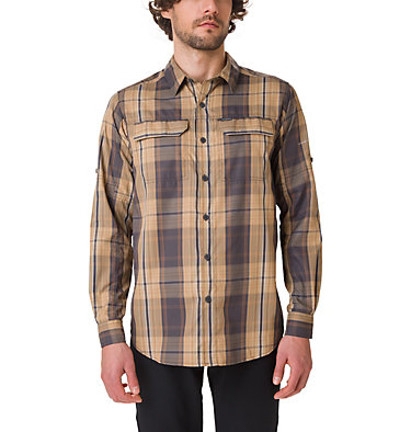 Men's Silver Ridge™ 2.0 Plaid Long Sleeve Shirt , front