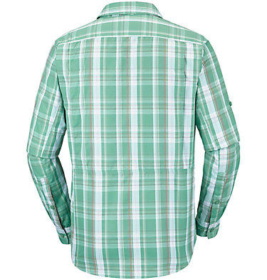 Men's Silver Ridge™ 2.0 Plaid Long Sleeve Shirt Silver Ridge™ 2.0 Plaid L/S Shirt | 024 | XS, Copper Ore Plaid, back