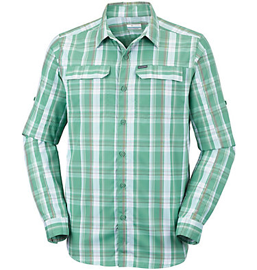 Men's Silver Ridge™ 2.0 Plaid Long Sleeve Shirt Silver Ridge™ 2.0 Plaid L/S Shirt | 024 | XS, Copper Ore Plaid, front