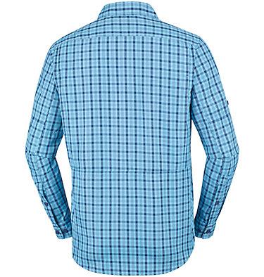 Men's Silver Ridge™ 2.0 Plaid Long Sleeve Shirt Silver Ridge™ 2.0 Plaid L/S Shirt   012   M, Collegiate Navy Gingham, back