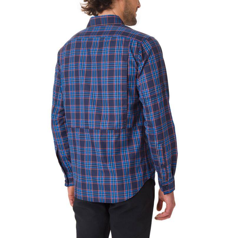 Silver Ridge™ 2.0 Langarmhemd mit Karomuster für Herren Silver Ridge™ 2.0 Langarmhemd mit Karomuster für Herren, back
