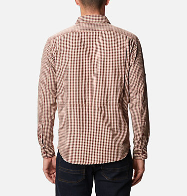 Men's Silver Ridge™ 2.0 Plaid Long Sleeve Shirt Silver Ridge™ 2.0 Plaid L/S Shirt | 024 | XS, Red Jasper Mini Plaid, back