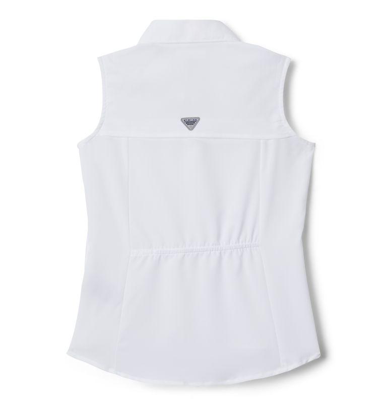 Girls' PFG Tamiami™ Sleeveless Shirt Girls' PFG Tamiami™ Sleeveless Shirt, back