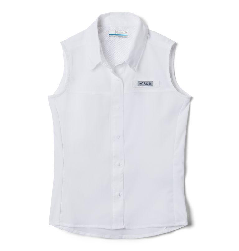 Girls' PFG Tamiami™ Sleeveless Shirt Girls' PFG Tamiami™ Sleeveless Shirt, front