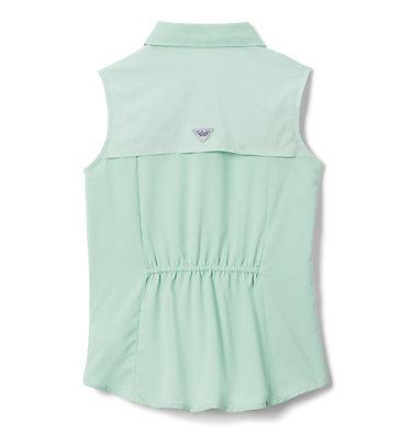 Girls' PFG Tamiami™ Sleeveless Shirt Tamiami™ Sleeveless Shirt | 384 | M, New Mint, back