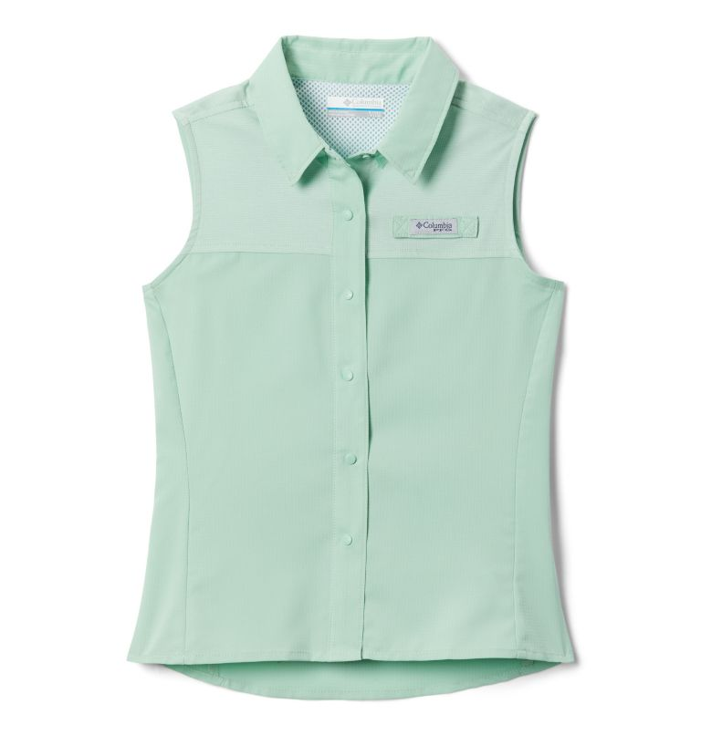 Girls' PFG Tamiami™ Sleeveless Shirt Girls' PFG Tamiami™ Sleeveless Shirt, front