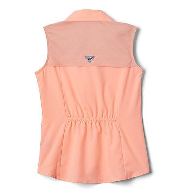 Girls' PFG Tamiami™ Sleeveless Shirt Tamiami™ Sleeveless Shirt | 384 | M, Tiki Pink, back