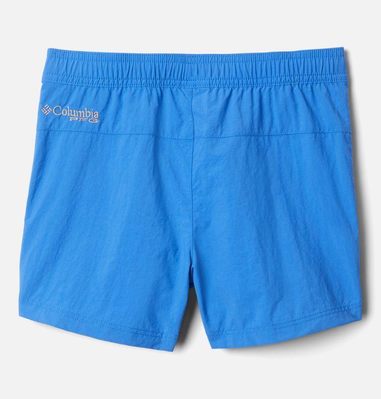 Backcast™ Short | 487 | L Girls' PFG Backcast™ Shorts, Vivid Blue, back