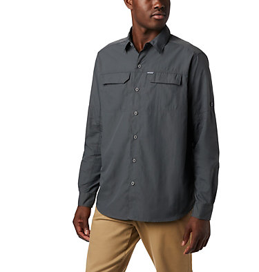Men's Silver Ridge™ 2.0 Long Sleeve Shirt Silver Ridge™2.0 Long Sleeve Shirt | 449 | XL, Grill, front