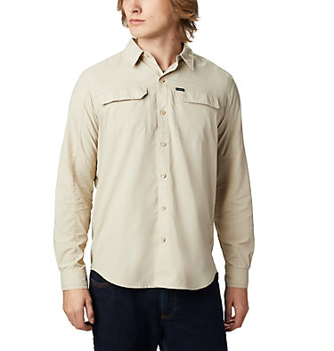 Men's Silver Ridge™ 2.0 Long Sleeve Shirt Silver Ridge™2.0 Long Sleeve Shirt | 449 | XL, Fossil, front