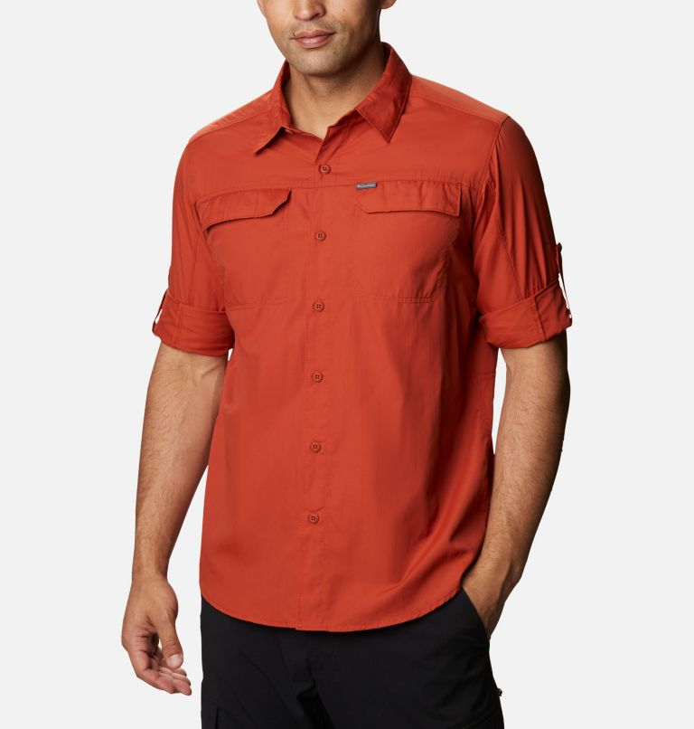Silver Ridge™2.0 Long Sleeve Shirt | 248 | L Men's Silver Ridge™ 2.0 Long Sleeve Shirt, Dark Sienna, a4