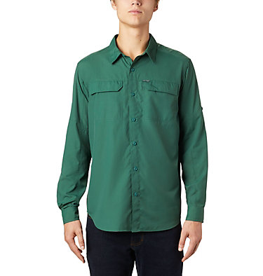 Men's Silver Ridge™ 2.0 Long Sleeve Shirt Silver Ridge™2.0 Long Sleeve Shirt | 449 | M, Rain Forest, front